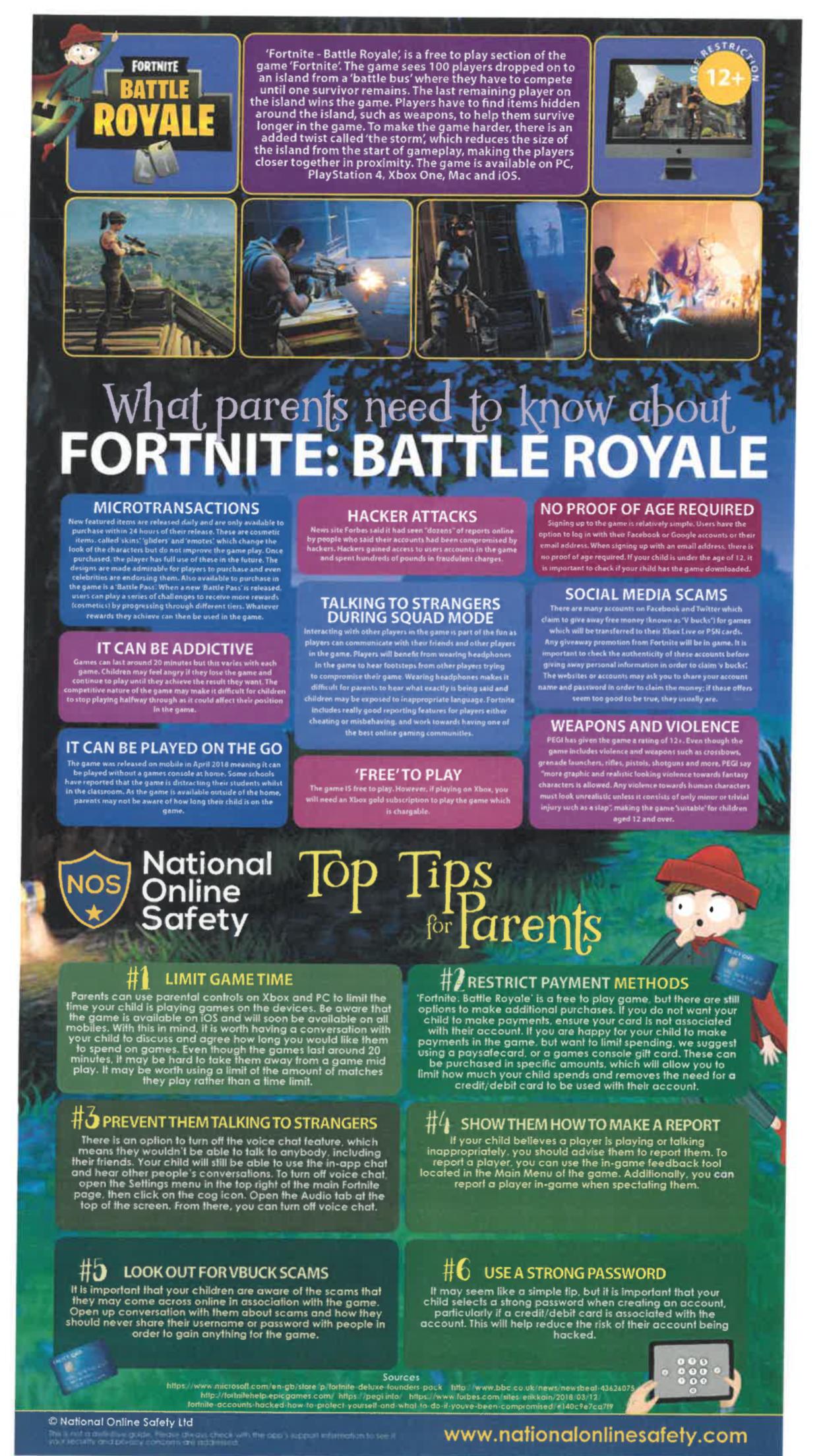 Online Game Safety