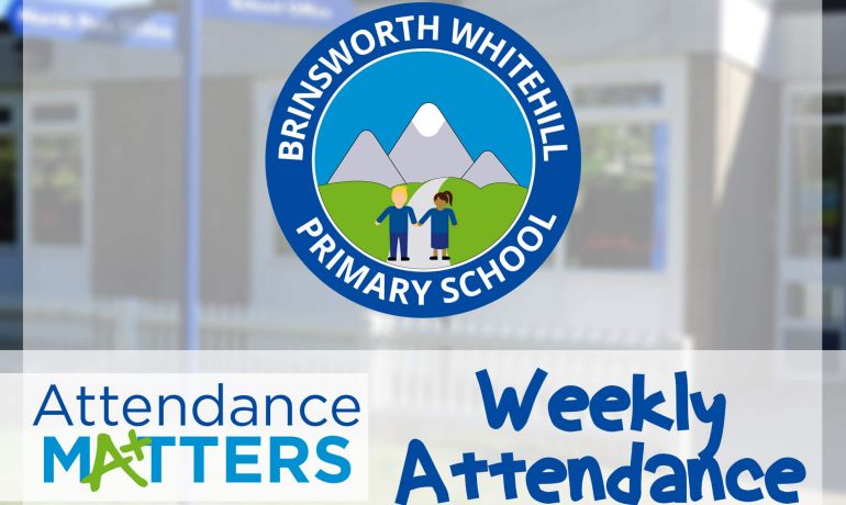 Weekly Attendance W/C 30th September 2019