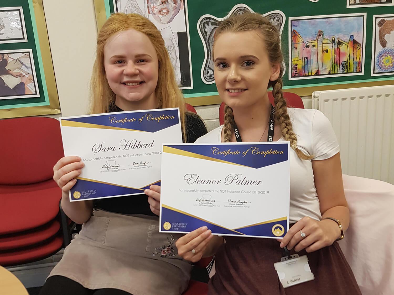 Congratulations Miss Hibberd and Miss Palmer!