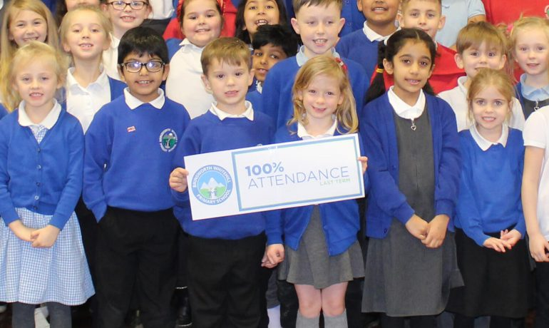 100% Attendance - Autumn Term 2019-20