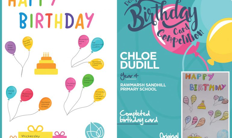 Birthday Card Winning Designs