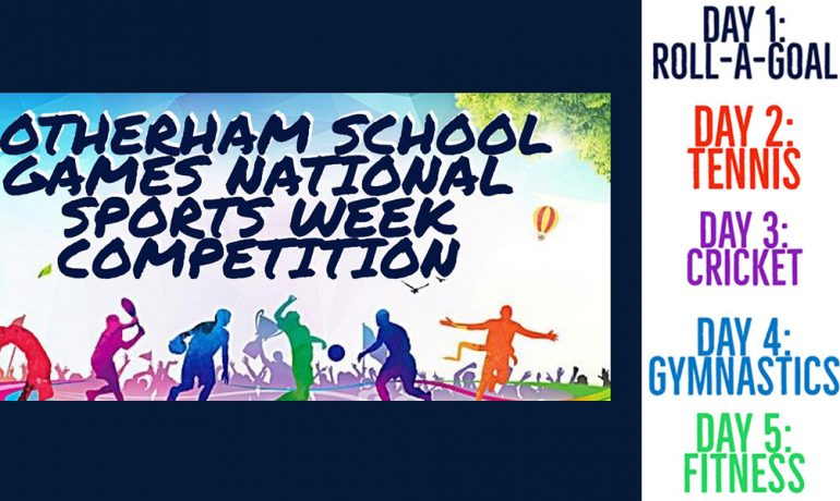 Virtual Rotherham School Games National Sports Week