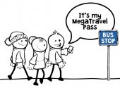 Get ready for September. Apply now for a MegaTravel Pass.