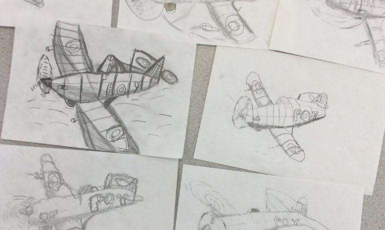 3/4S Learn About Spitfires