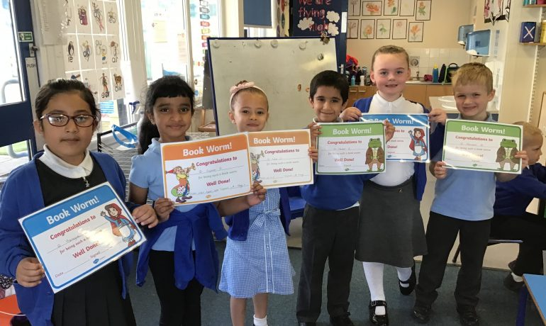 Y1 Reading Rewards
