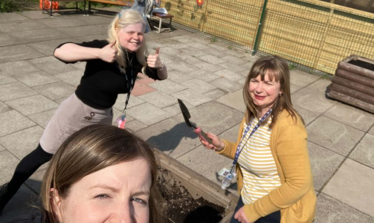Improving Our Outdoor Area!