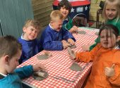 Clay Tile Making