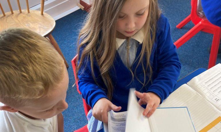 Chestnut Class Find New Words!