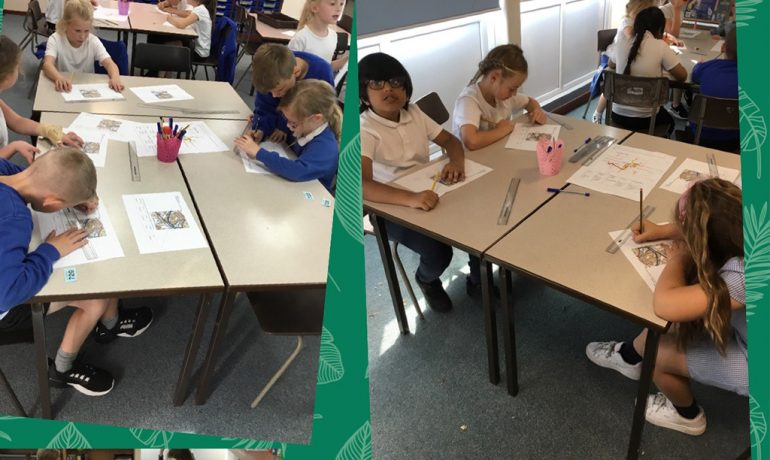 Cherry Blossom Class Identify OS Symbols in Geography