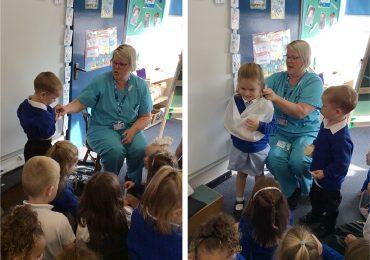 Nurse Sarah Visits FS2