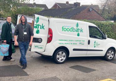 Brinsworth Whitehill Make Harvest Donations to Rotherham Food Bank